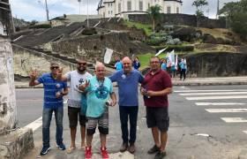 Visitando os amigos em Santo Antônio, Vitória