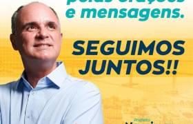 OBRIGADO PELAS ORAÇÕES